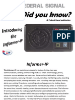 Informer-IP Did You Know?