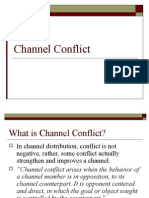 Channel Conflict - Class