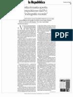 PASOLINI LA FERITA RIMASTA APERTA DELL'ESPULSIONE DAL PCI PER INDEGNITA' MORALE CECCARELLI ANNA TONELLI LATERZA