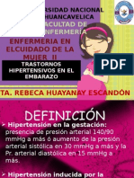ENFERMEDADES HIPERTENSIVAS