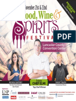 Food, Wine & Spirits Festival 2015