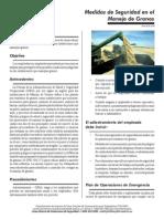 Programa de Seguridad Segun OSHA en Las Plantas de Granos