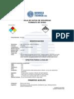 Formiato de Sodio (HDSF)