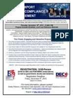 Salt Lake City-December 10-Evolving Export Controls...