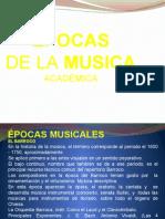 Épocasde La Musica académica