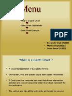 Gantt Chart 18A