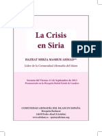 La Crisis en Siria