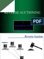 Reverse Auction