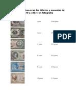 Billetes de 1970 a 1993