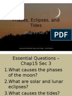 phases eclipses and tides