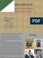 Componentes culturales de Mexico 1945