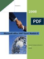Excel 2007 Modulol II