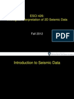 Introduction to Seismic