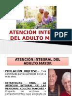 atencion Del Adulto Mayor