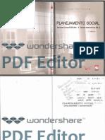 Planejamento Social Intencionalidade e Instrumentacao OCR