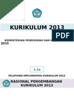 1.1a Rasional Pengembangan K2013