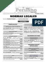 Normas Legales, lunes 16 de noviembre del 2015