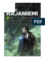 Hannu Rajaniemi - Hoțul Cuantic