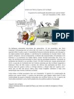 Terrorismo em Paris e Guerra civil no Brasil
