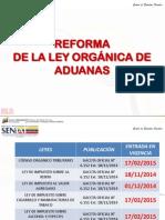 Analisis Reforma Ley Organica de Aduana 2015