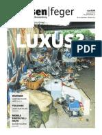 LUXUS? – Ausgabe 19 strassenfeger