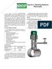 Injection Sampling Systems Retrievable