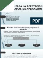 ASPECTOS PARA LA ACEPTACION DE PROGRAMAS DE APLICACION.pptx