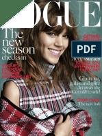 Vogue British - August 2013