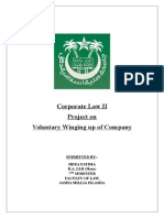 Corporate Law II