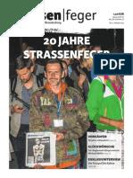 20 Jahre strassenfeger – Ausgabe 21 2015