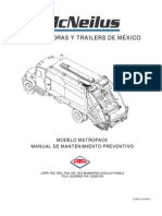 Manual de Mantenimiento Metropak