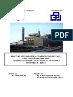 Optimisation Des Coûts Dans La Centrale Thermique (JLEC)