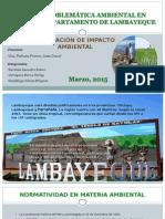 Problemas Ambientales en Lambayeque