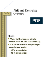 Fluid and Electrolyte Overview '14