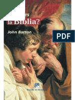 John Barton - _Qué es la biblia.pdf