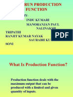 Long Run Production Function ppt