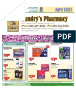 Landry's Pharmacy - April On Sale Flyer