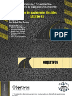 Diseño de Pavimentos Flexibles Metodo Aashto 93