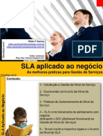 Workshop SLA Aplicado ao Negócio