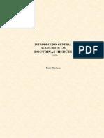 Introduccion General Al Estudio de Las Doctrinas Hindues 1921