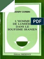 Henry Corbin - L'Homme de Lumière dans le Soufisme Iranien (1971)