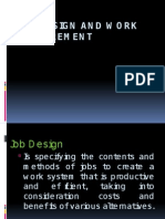 Job Design and Work Measurement