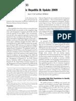A Chronic Hepatitis B AASLD Guidelines September 2009