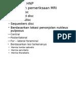 klasifikasi hnp