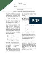 Lista01 Física Veloc Aceleração