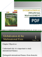 1. Gloabalisation and Multinational Firm