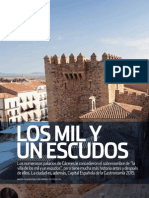 Cáceres, Los Mil y Un Escudos