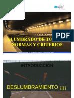 ALUMBRADO DE TÚNELES NORMAS Y CRITERIOS