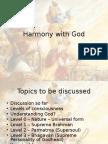 Harmony With God