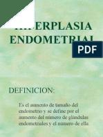 Hiperplasia Endometrial y CA Endometrio